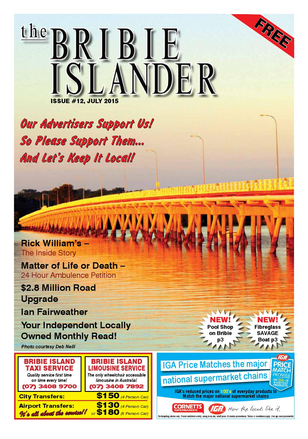 The Bribie Islander Issue 12 July 2015 by The Bribie ...