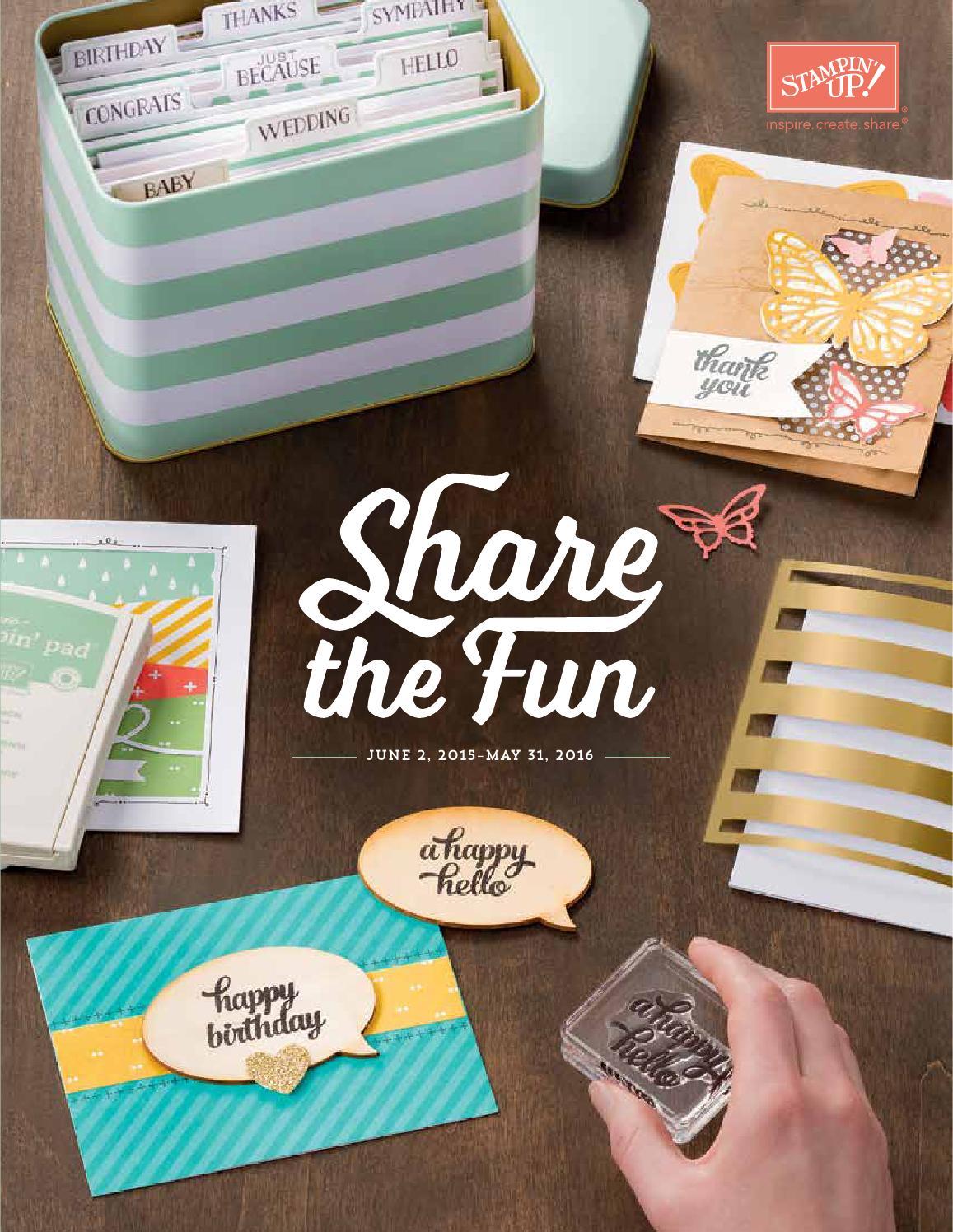 stampin up catalog 2016 pdf