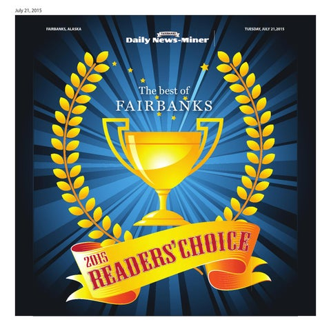 2015 Readers Choice By Fairbanks Daily News Miner Issuu