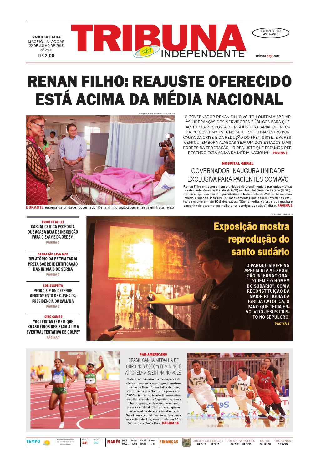 Edição número 2401 - 22 de julho de 2015 by Tribuna Hoje - issuu 77b7ae7b9c