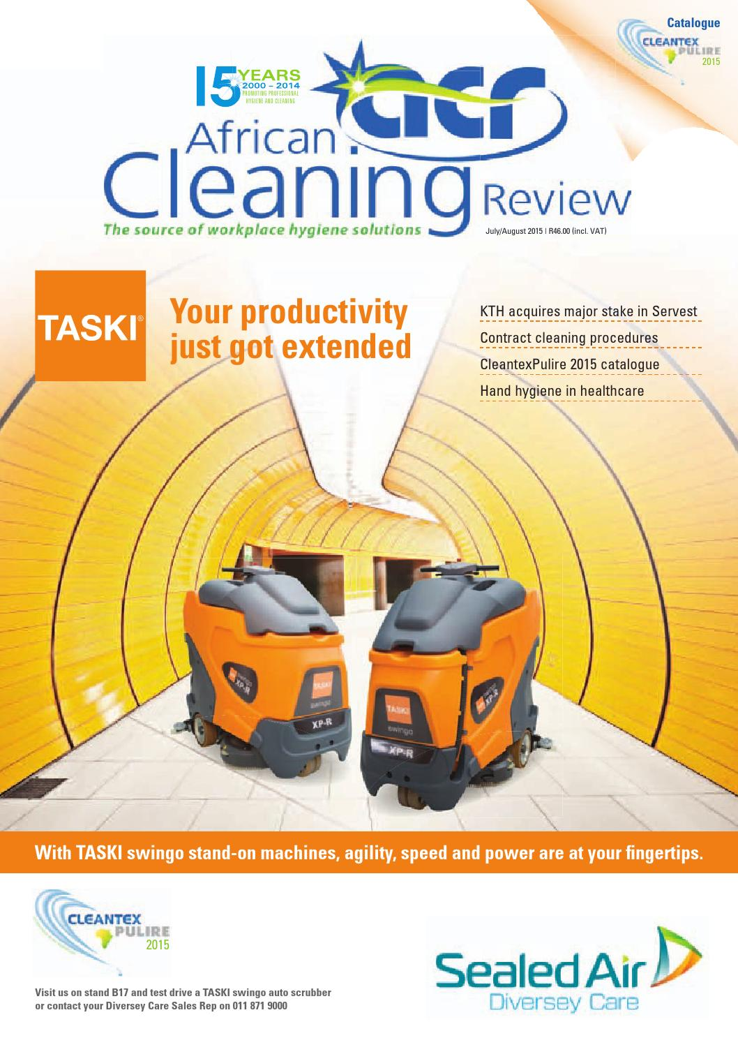 African Cleaning Review JulAug'15 issue by African Cleaning