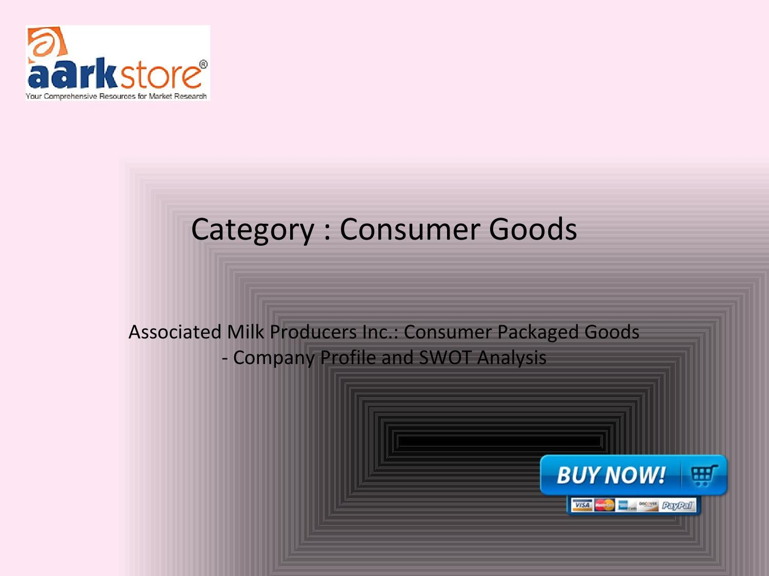 Associated Milk Producers Inc.: Consumer Packaged Goods - Company ...