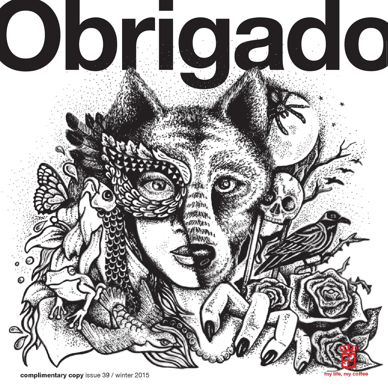 OBRIGADO 39 Winter 2015 By The Publishing Partnership