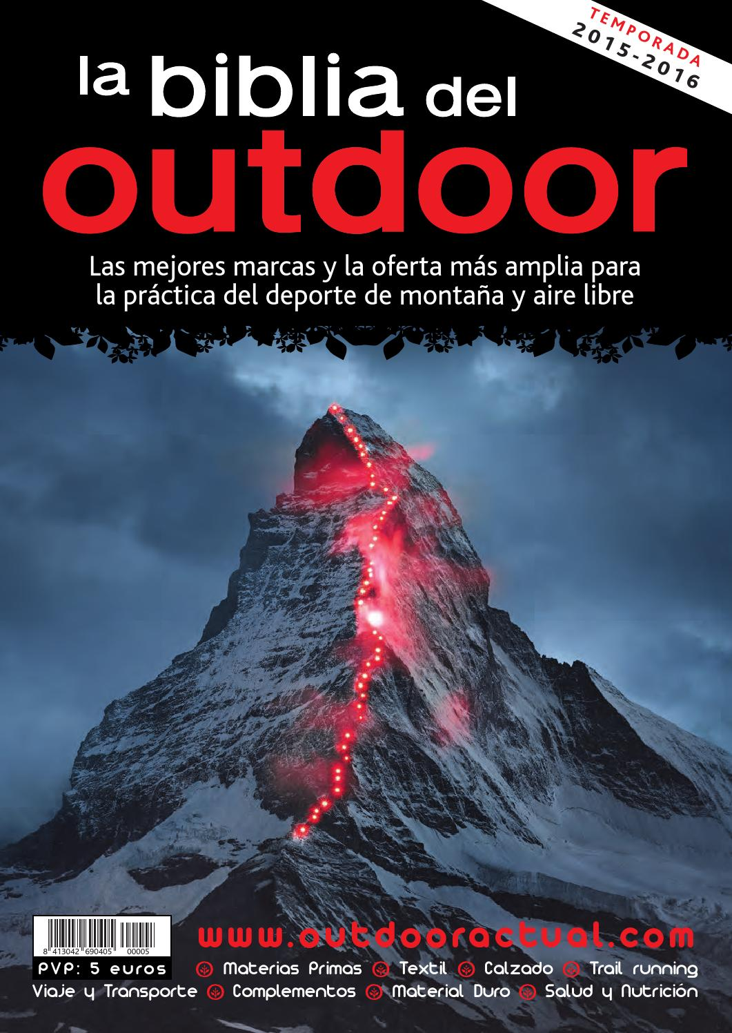 new styles 36777 c5594 La Biblia del Outdoor 2015-16 by Outdoor Actual - issuu