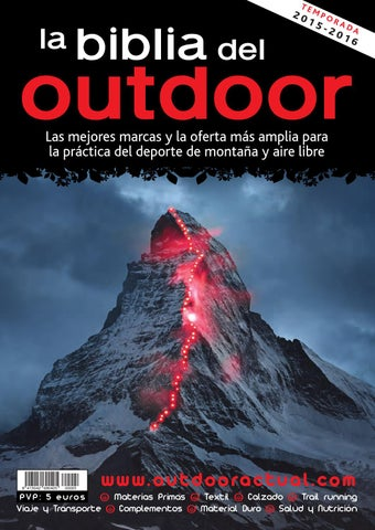 dd36e1f9253 La Biblia del Outdoor 2015-16 by Outdoor Actual - issuu