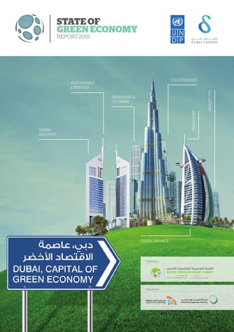 The state of green economy report 2015 by dubai carbon issuu state of green economy report 2015 malvernweather Image collections