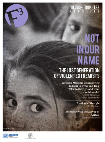 F3 Magazine Not In Our Name The Lost Generation Of Violent