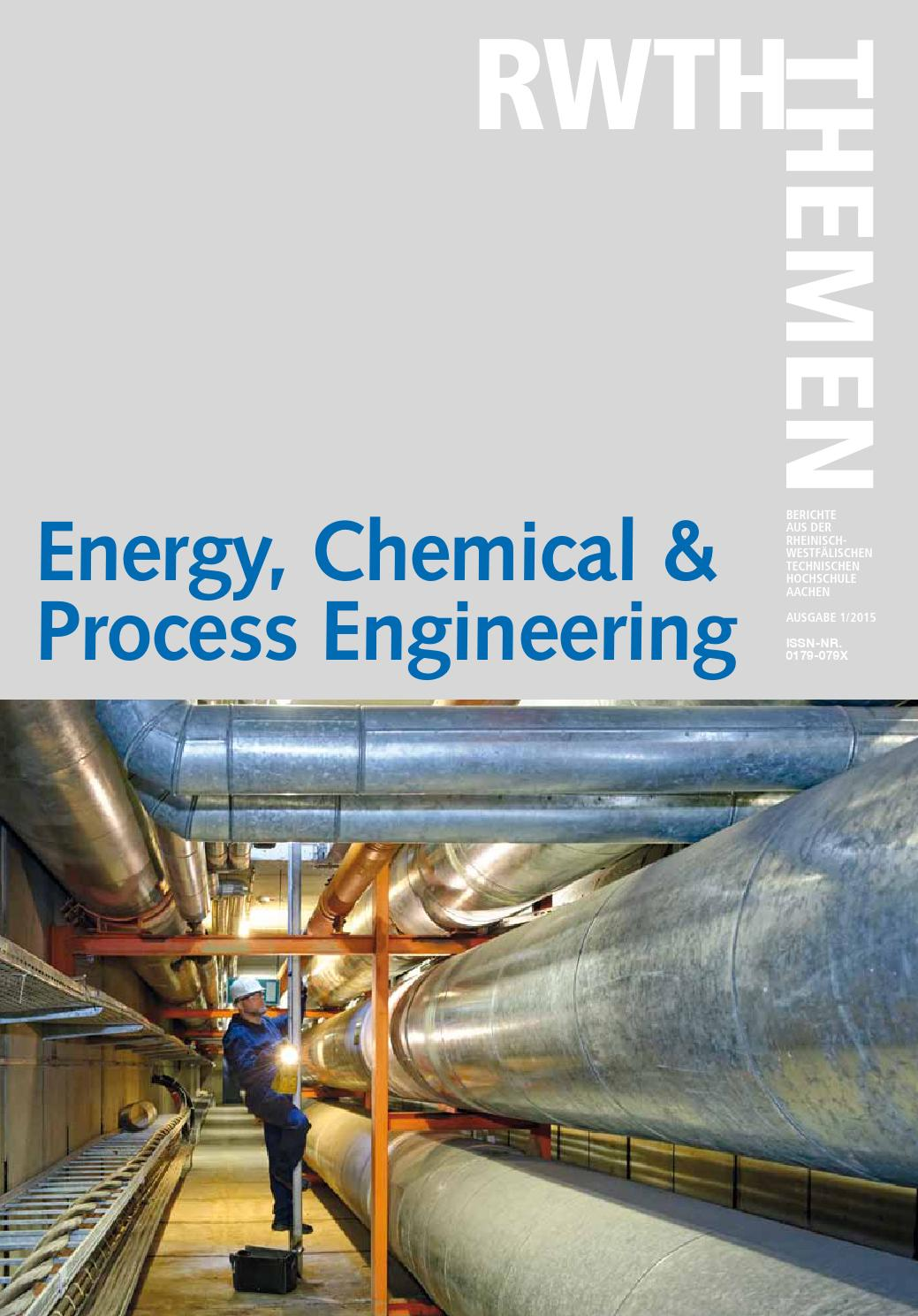 RWTH-Themen Energy, Chemical & Process Engineering by RWTH Aachen ...