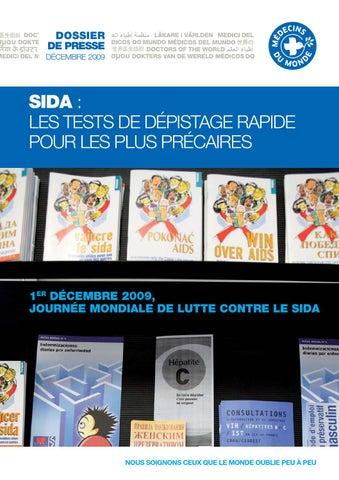 Sida : les tests de dépistage rapide pour les plus précaires by ...
