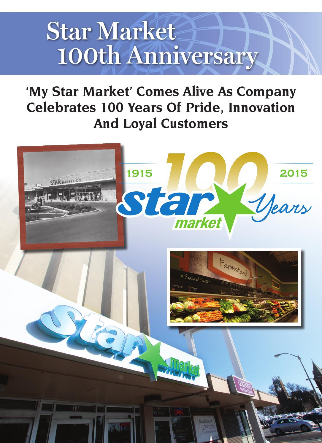 Star Market 100th Anniversary by Shelby Publishing - issuu