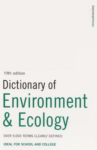 Dictionary of environment ecology