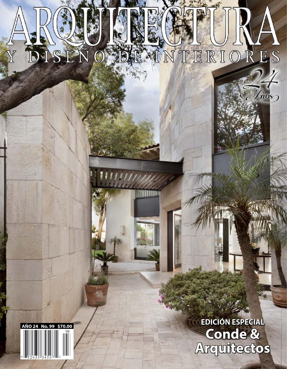 Arquitectura y dise o de interiores conde arquitectos by - Listado arquitectos valencia ...
