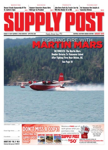 Supply Post Eastern Cover - August 2015