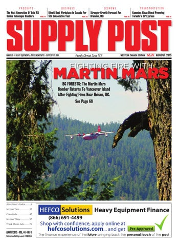 Supply Post Western Cover - August 2015