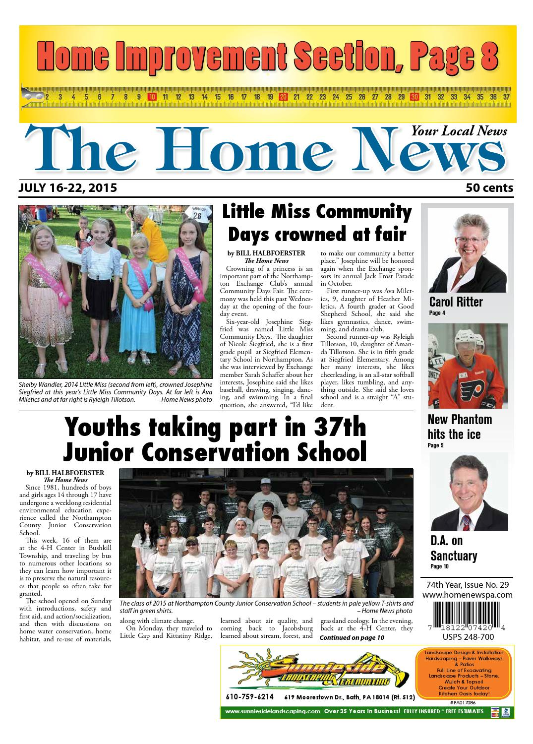 The Home News July 16 By Innovative Designs Publishing Inc