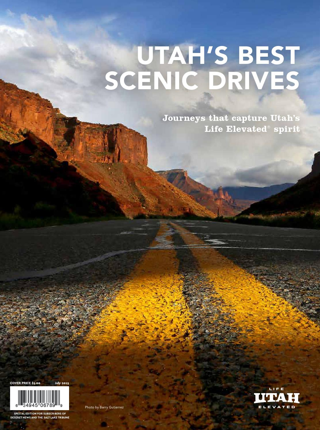 utahs best scenic drives by utah media group issuu