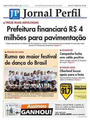 Jornal perfil 23 07 15 by Jornal Perfil - issuu 91bcb9281fbdc