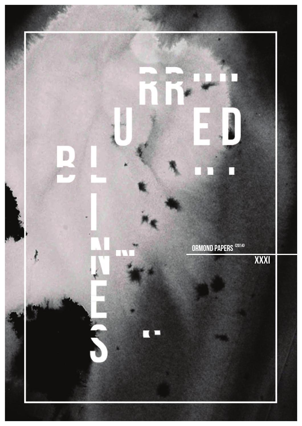 2014 Ormond Papers Blurred Lines By College Issuu Sonic 150r Aggresso Matte Black Klaten