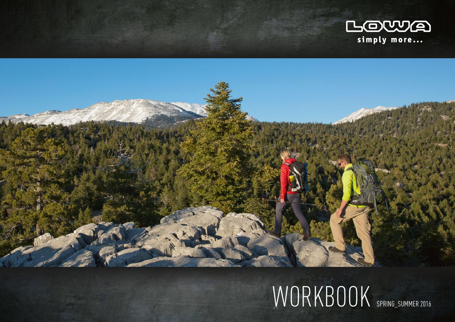 LOWA Workbook SS 2016 by MountainBlogIT issuu