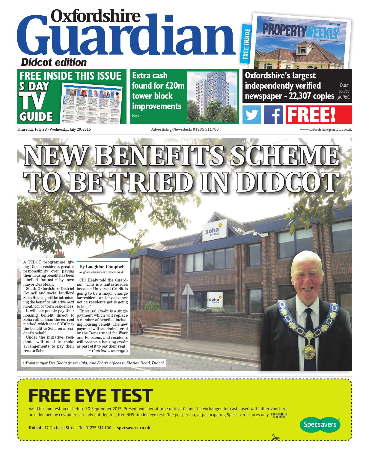 23 july 2015 oxfordshire guardian didcot by Taylor