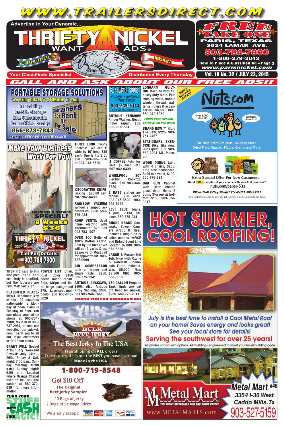 July 23, 2015 web edition by Paris Thrifty Nickel/American ...