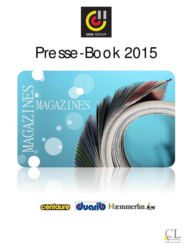 2015 Presse Book Cdh Par Marques 1er Semestre 2015 By Fdubas