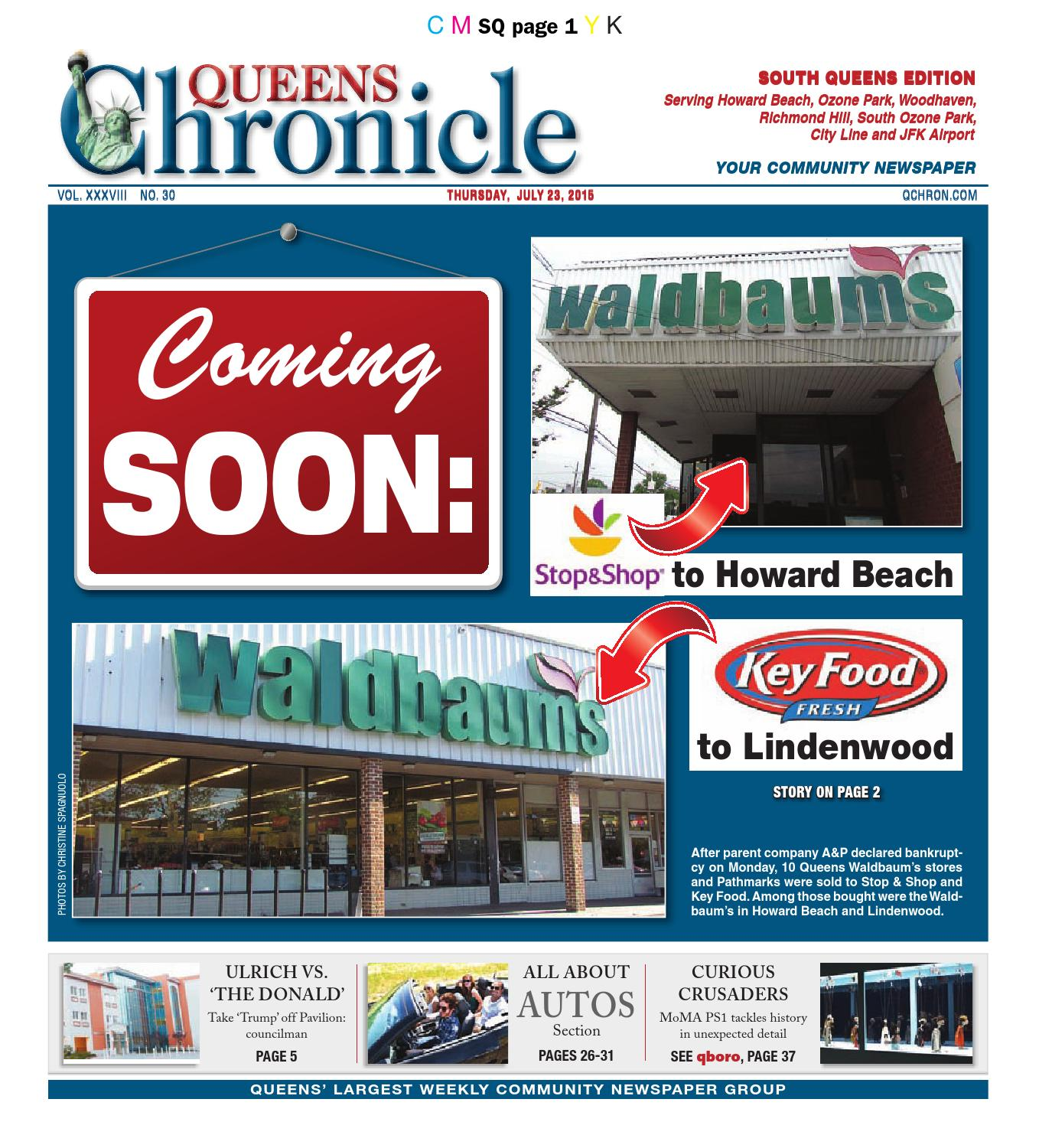 Queens Chronicle South Edition 07-23-15 by Queens Chronicle