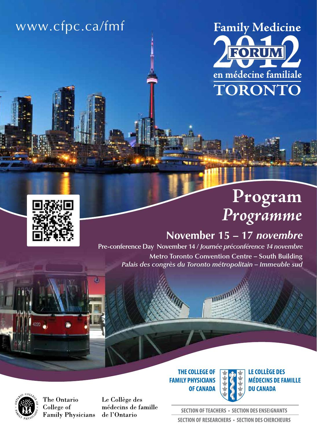 carte des médecins spécialisés en fibromyalgie Family Medicine Forum 2012 Program by Family Medicine Forum   issuu