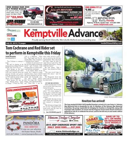 Kemptville072315 by Metroland East - Kemptville Advance - issuu on