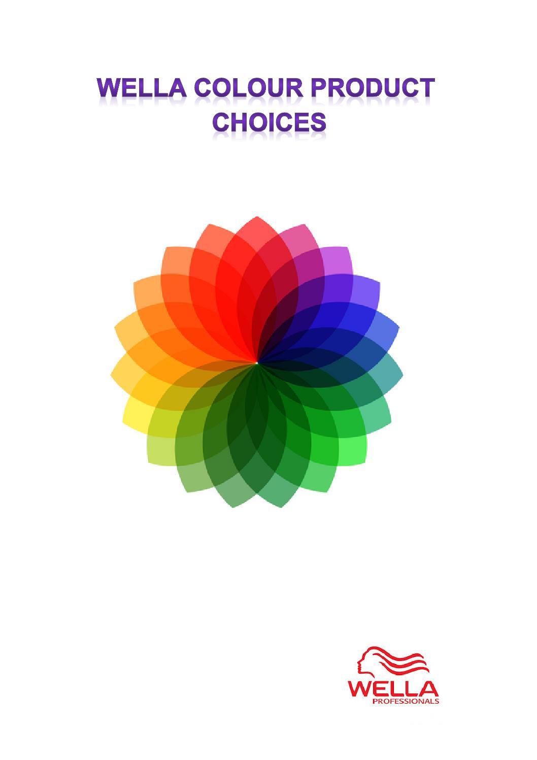 Wella colour choice by toni thompson issuu nvjuhfo Choice Image