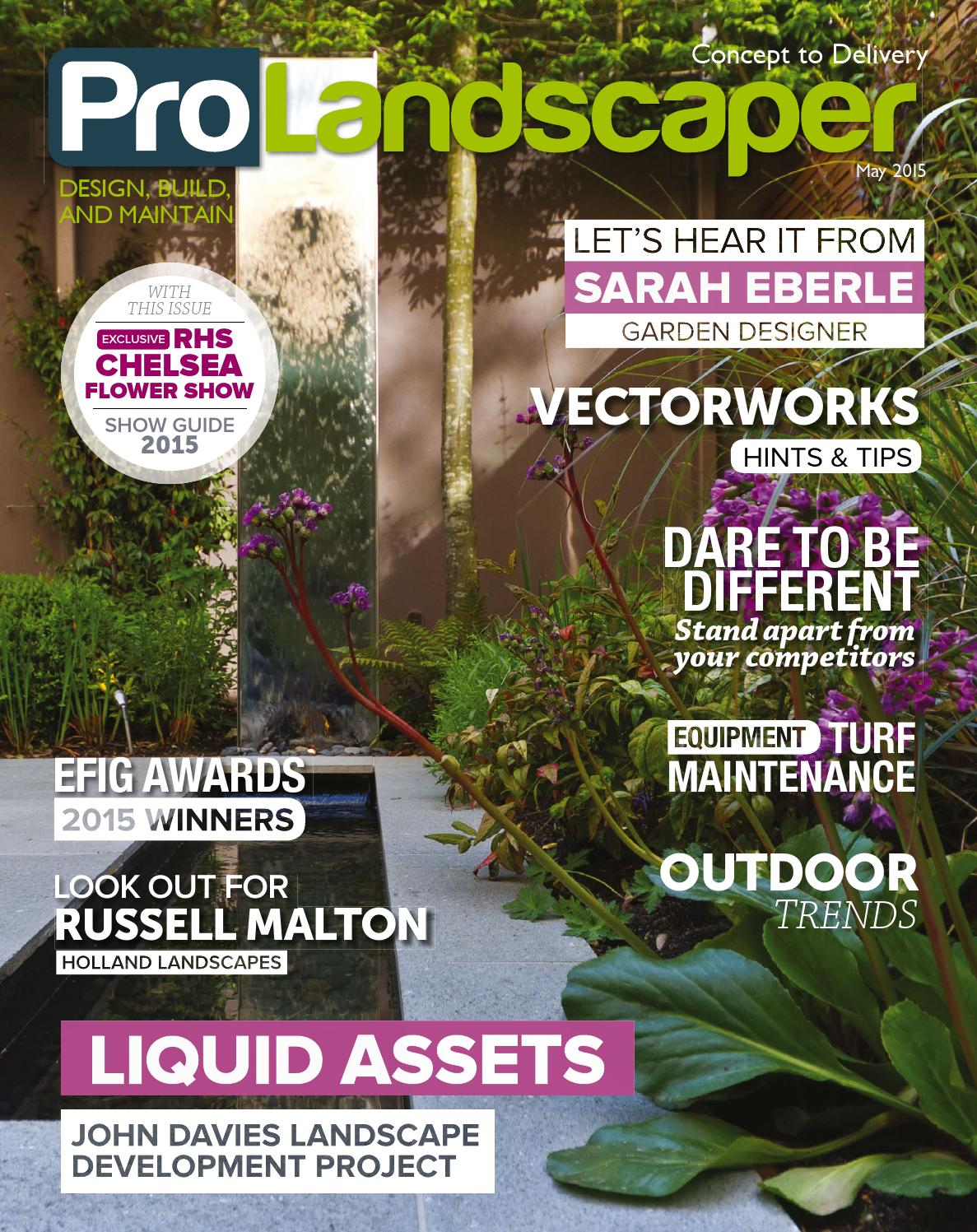 Pro Landscaper May 2015 by Eljays44 - issuu