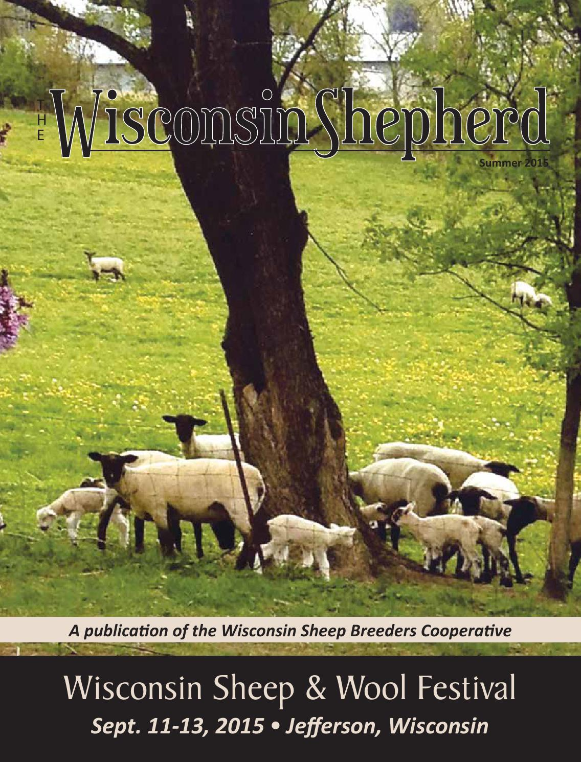 The Wisconsin Shepherd Summer 2015 by EDJE - issuu