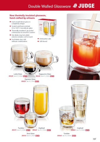9a508262ccb Double Walled Glassware New thermally insulated glassware, hand crafted by  artisans