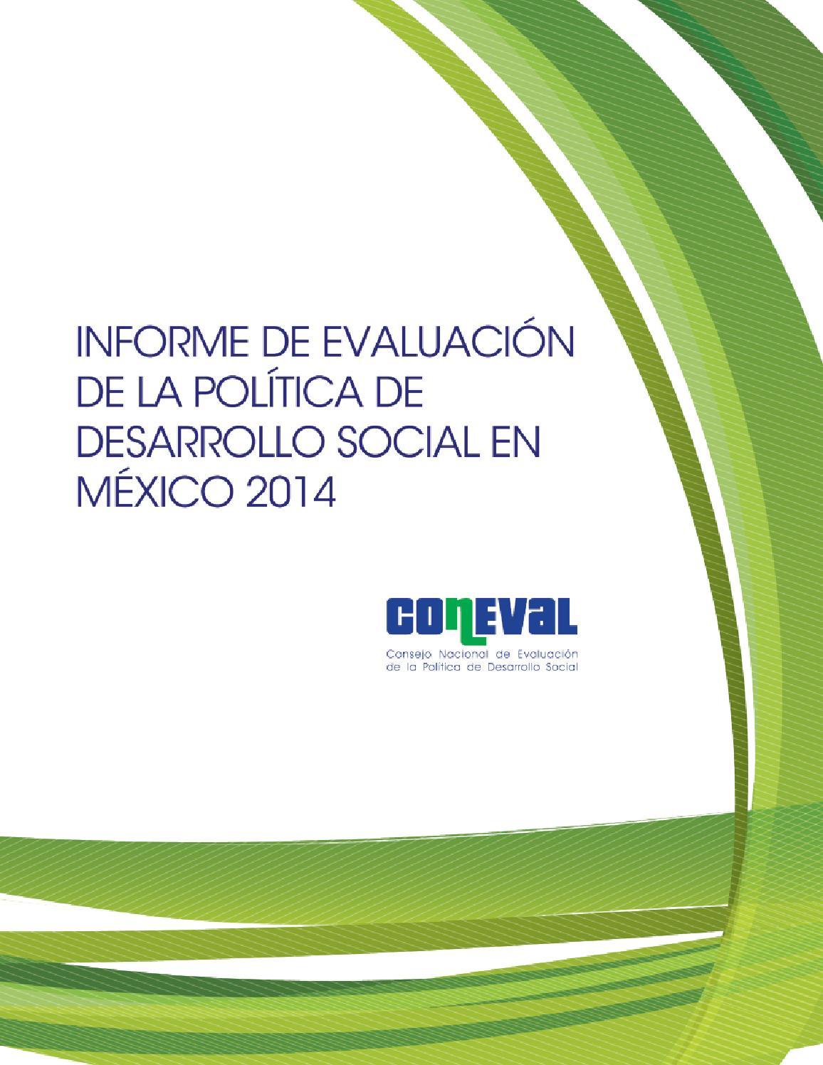 Coneval IEPDS 2014 by Políticas Públicas - issuu