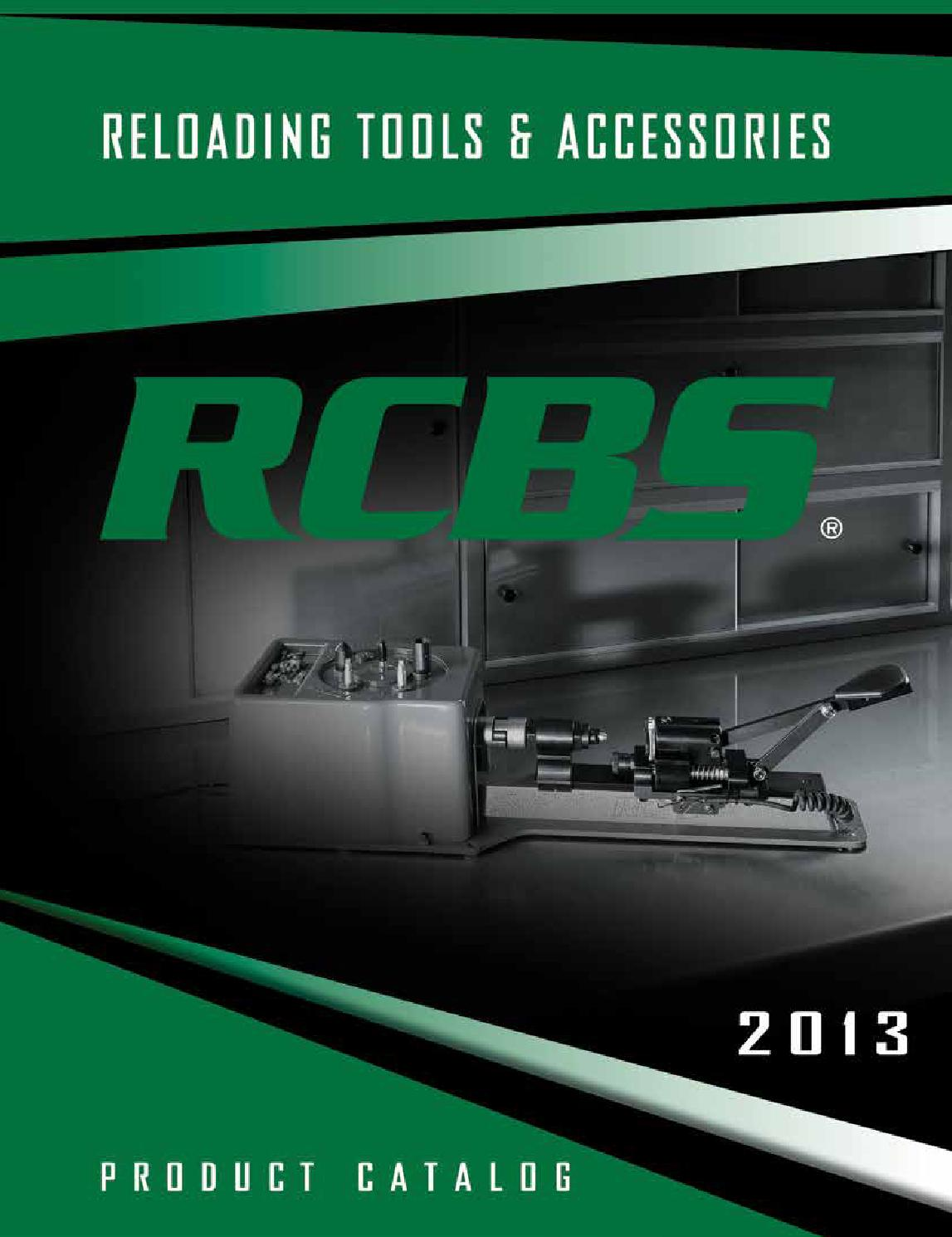 Rcbs catalog eng 2013 by Bignami S p A  - issuu