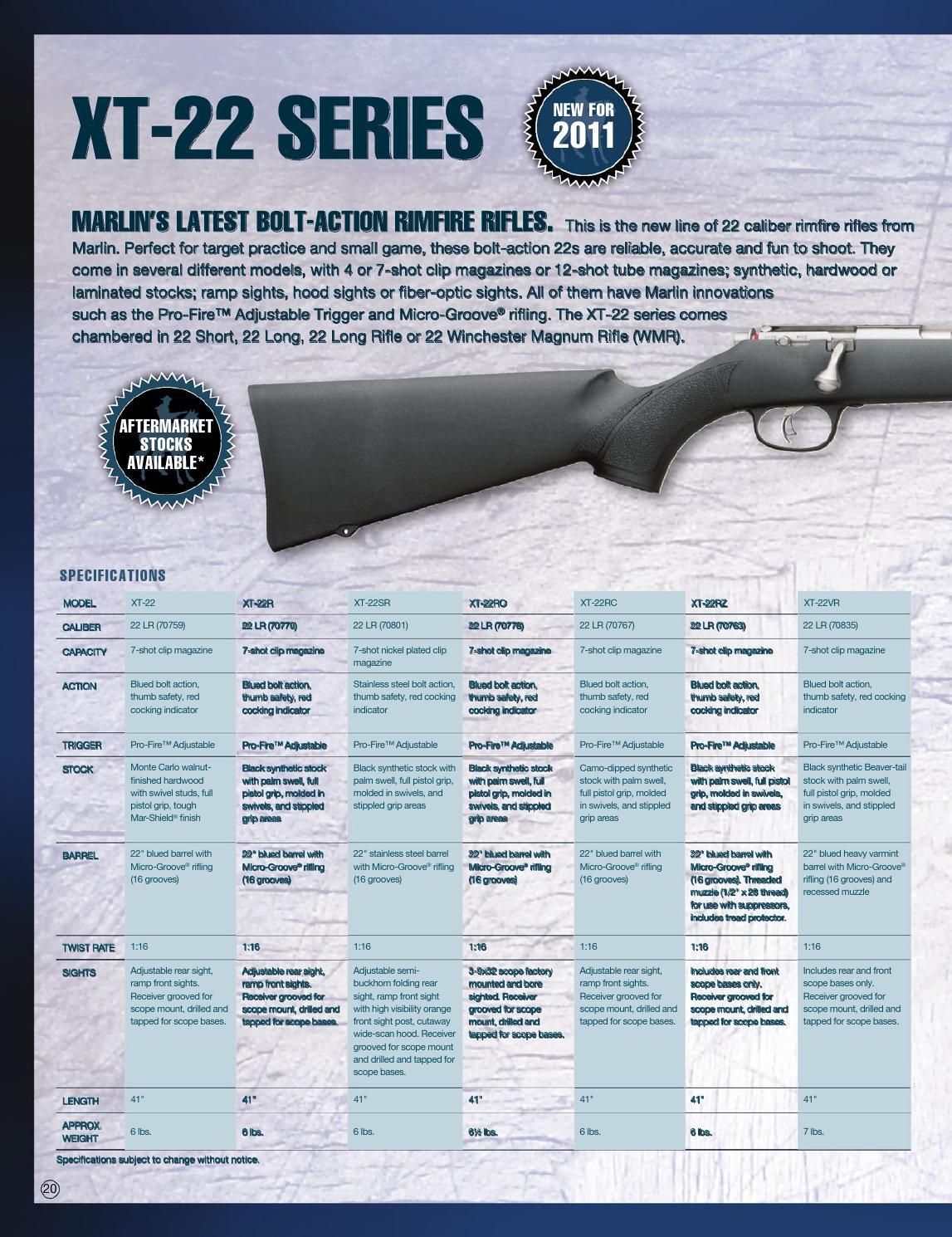 Marlin catalog eng 2011 by Bignami S p A  - issuu