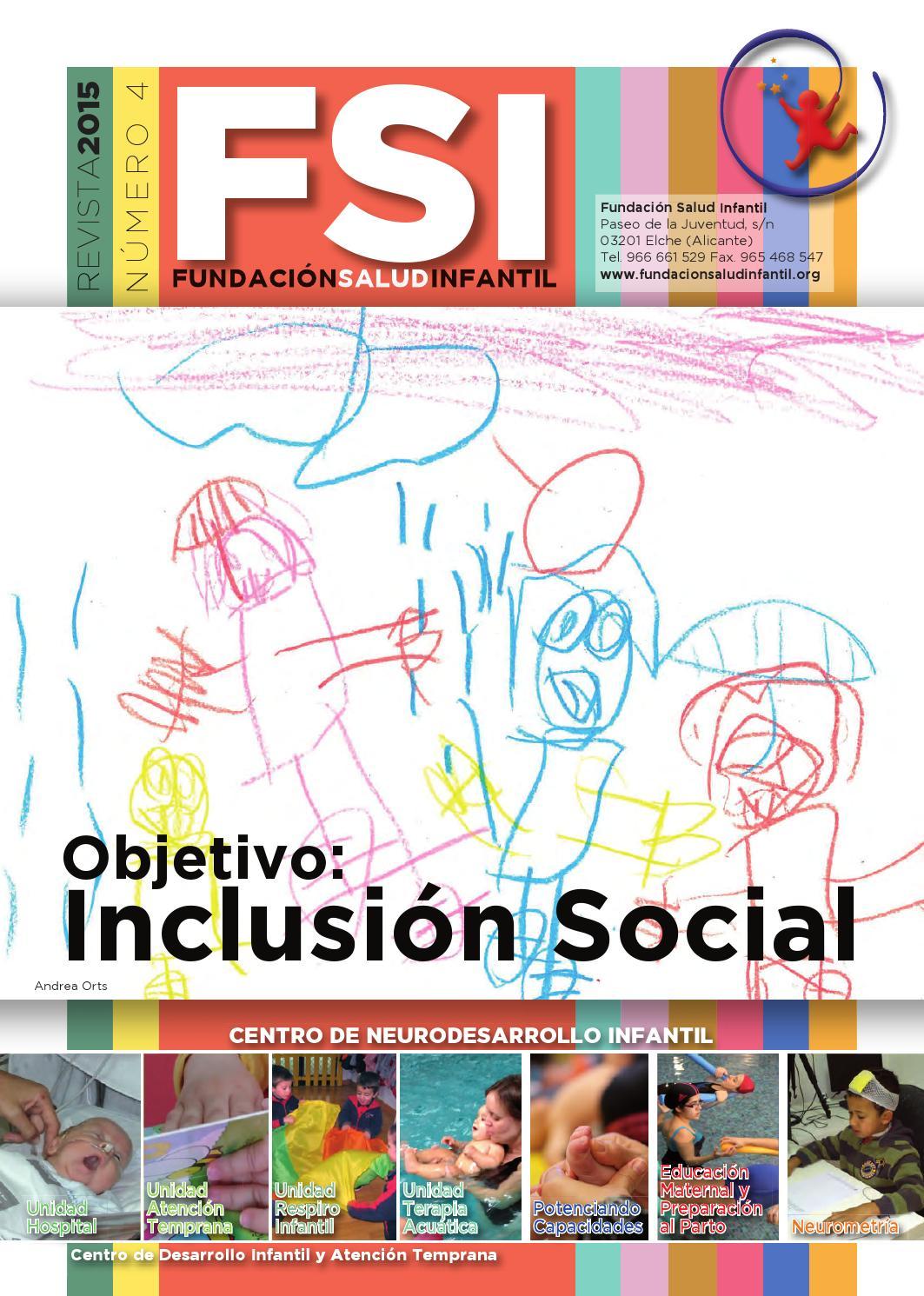Revista 2015 by Fundación Salud Infantil - issuu