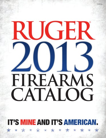 Ruger catalog eng 2013 by Bignami S p A  - issuu