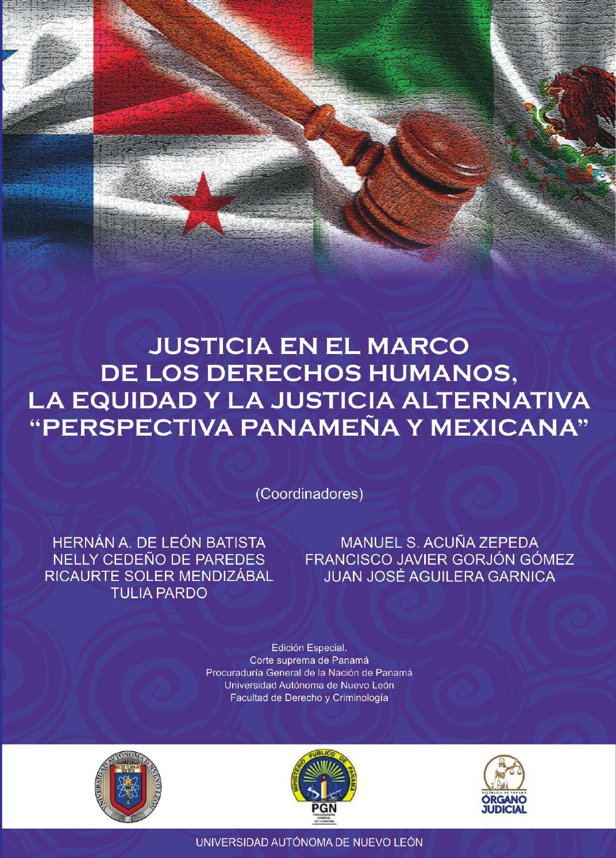 Justicia en el marco de los derechos humanos, la equidad y la ...