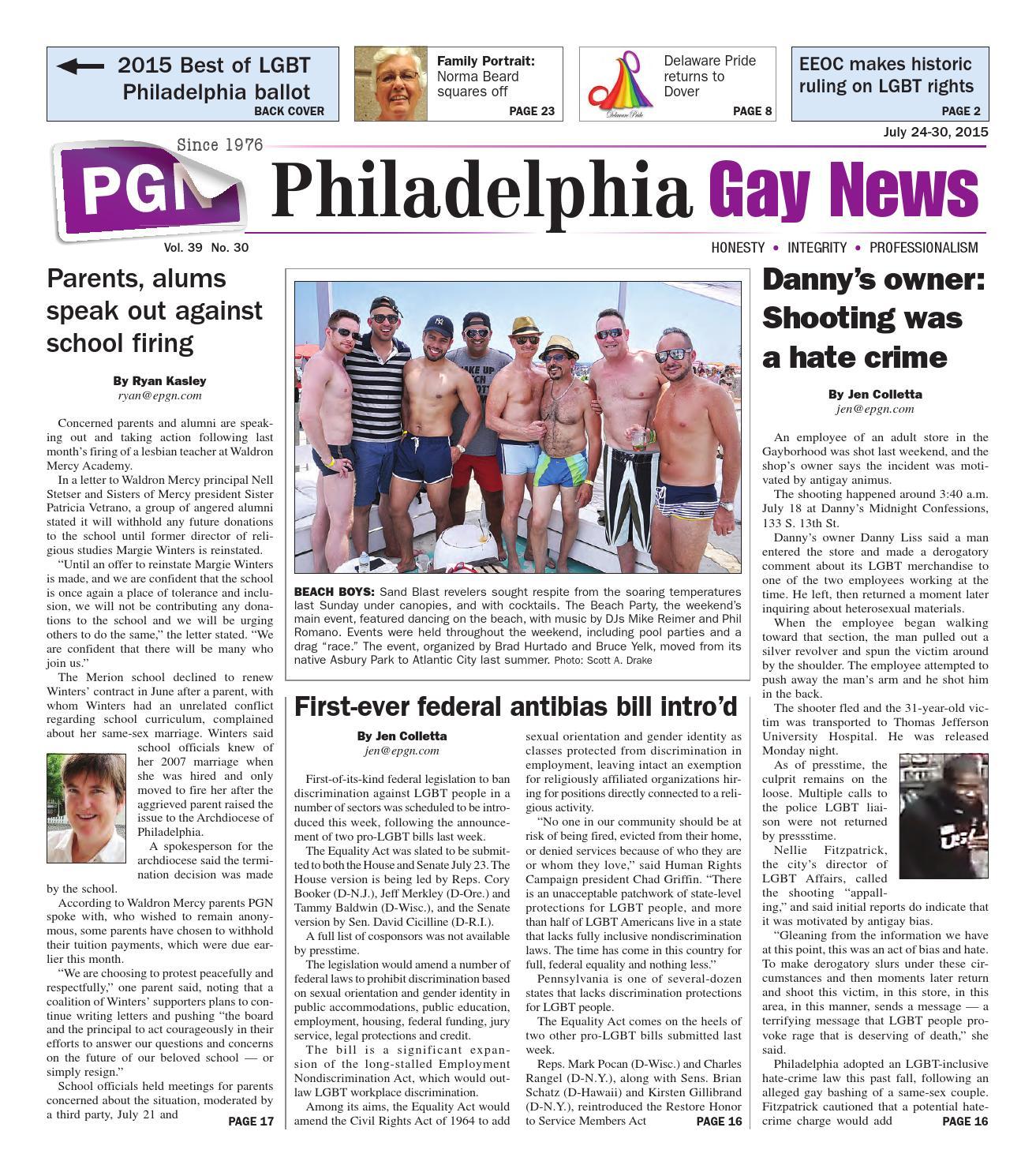 Philadelphia gay news