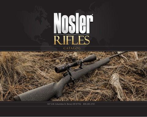Nosler rifle catalog eng 2013 by Bignami S p A  - issuu