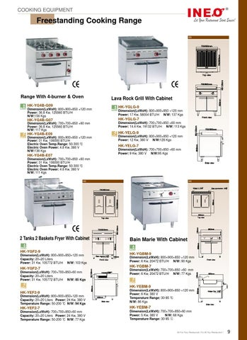 ineo commercial kitchen equipment catalogue by ineo rh issuu com commercial kitchen equipment catalog
