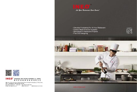 ineo commercial kitchen equipment catalogue by ineo rh issuu com  commercial kitchen equipment catalog pdf