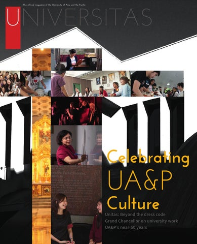 Universitas March 2014 by University of Asia and the Pacific