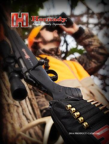 Hornady productcatalog eng 2014 by Bignami S p A  - issuu