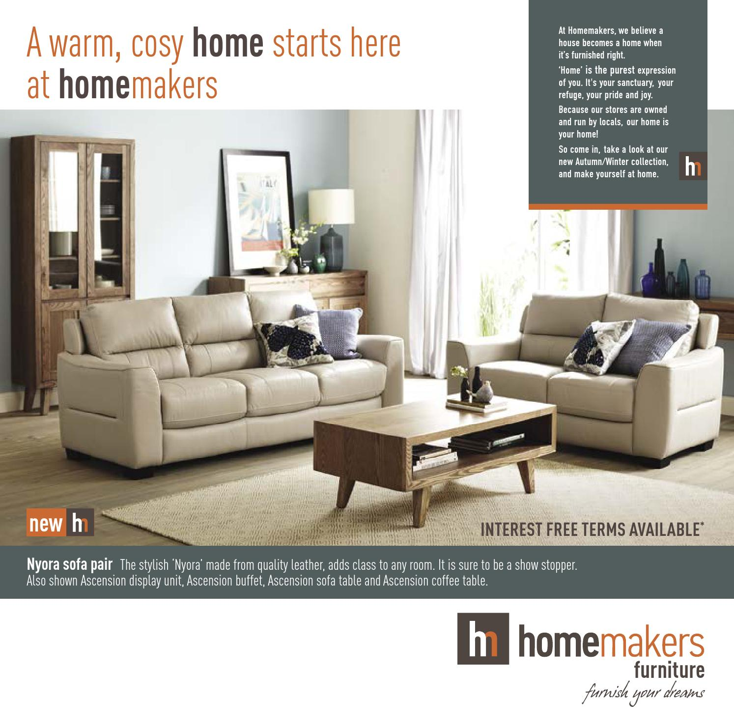 Homemakers Furniture Catalogue E04/15 By Homemakers