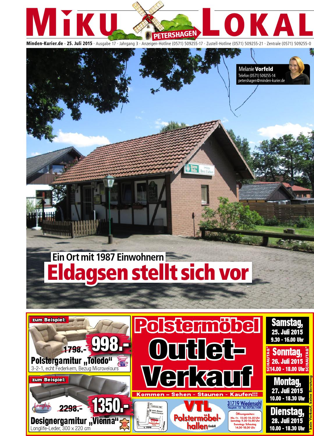 25 Juli 2015 Sublokal Petershagen By Minden Kurier Issuu