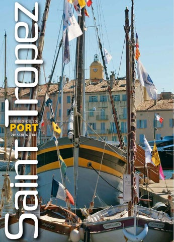 Revue du port 2015 by Mairie de Saint-Tropez - issuu 9778416d5b0