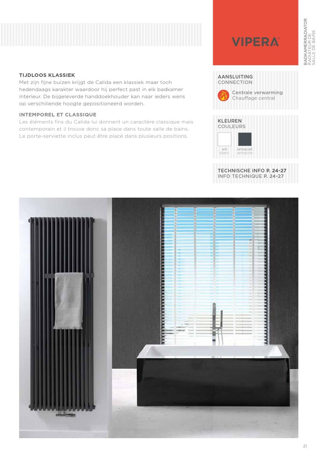 Catalogus Vipera radiator by X2O Sanitary - issuu