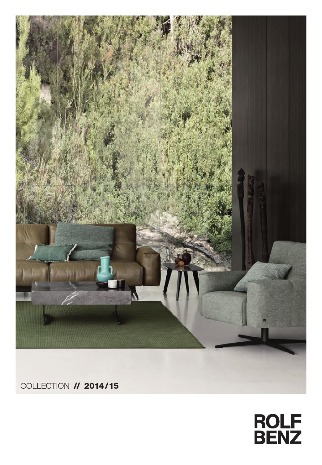 rolf benz katalog 2015 by bwa holding ag issuu. Black Bedroom Furniture Sets. Home Design Ideas